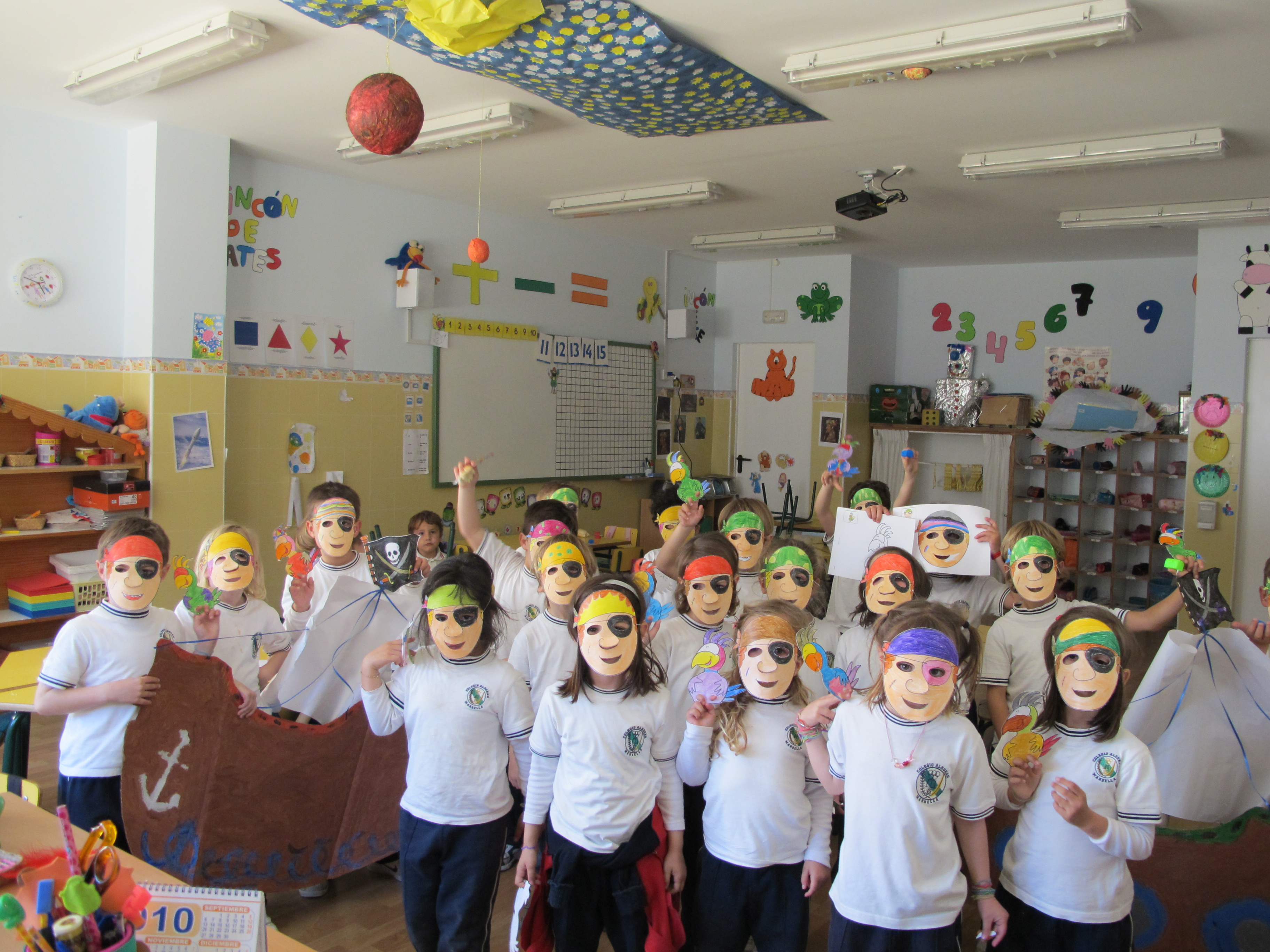 Piratas el blog de nuestra clase for Actividades para el salon